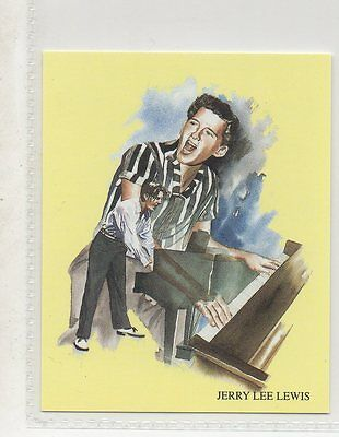 Jerry Lee Lewis - Rock N Roll Collector Card