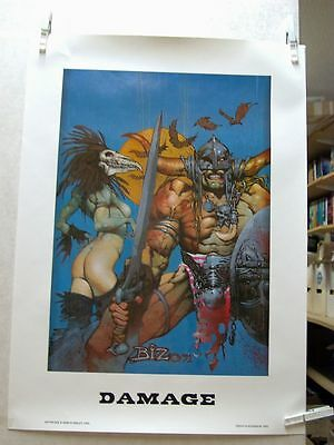 Simon Bisley: Damage Print (USA)