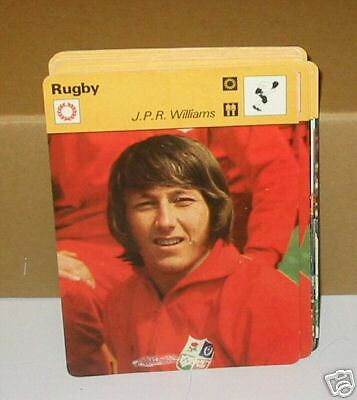JPR john peter rhys Williams wales Rugby Collector card