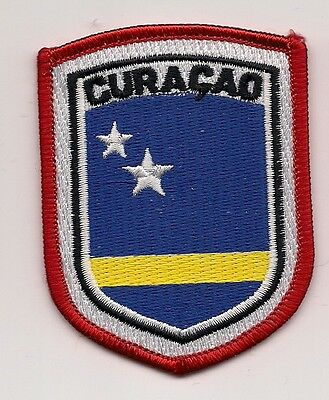 Country Of Curacao Souvenir Travel Patch