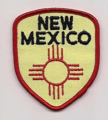 Souvenir Patch State Of New Mexico