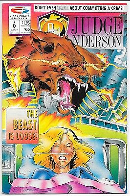 Fleetway/Quality Comics - Psi: Judge Anderson #6 Limited Edition
