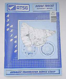 TCI 893101 Transmission Technical Manual