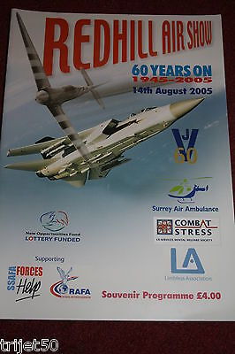 Redhill 2005 Airshow Programme