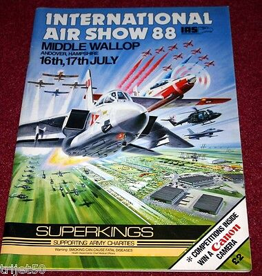 Middle Wallop 1988 Airshow Programme
