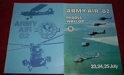 Middle Wallop 1982 Airshow Programme
