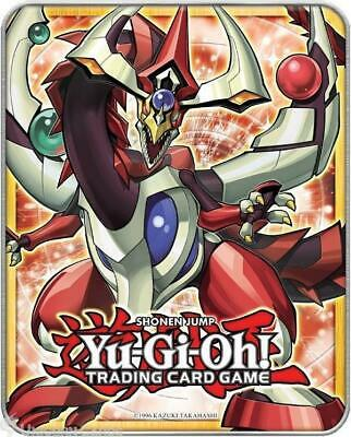 YuGiOh Collector Tin IV With 100 Mint YuGiOh Cards+Game Mat + 10 Holo Foil Cards