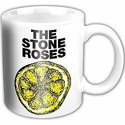 STONE ROSES BOXED MUG Lemon