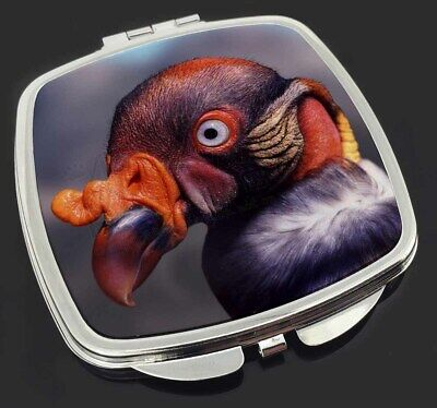 King Vulture Bird of Prey Make-Up Compact Mirror Stocking Filler Gift, AB-66CM