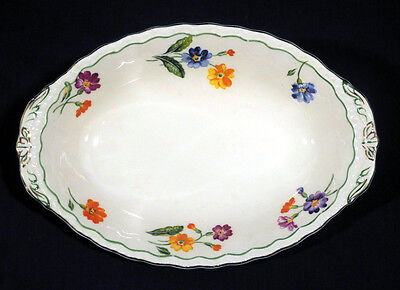 "Vintage Grindley China The Primula Bowl Relish Tray 8-1/2"" Excellent Condition"