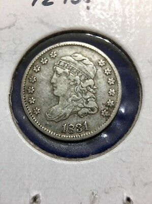 """1831 Capped Bust Half Dime """"Port City Coin"""""""