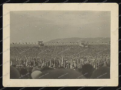 Foto-Stuttgart-Bad-Cannstatt-Deutsches-Turnfest-Tribüne-1933-