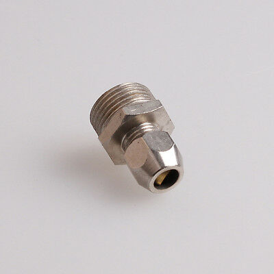 6mm OD Air Pipe Fitting Pneumatic Coupler Coupling Connector 3/8BSP Male Thread