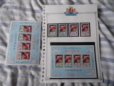 Anguilla ~ 1980 Queen Mother's 80th Birthday S/Sheet ~ MNH
