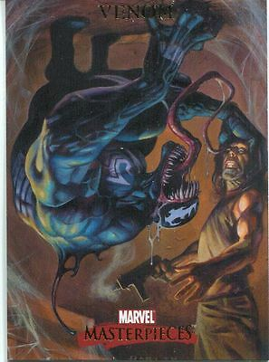 Marvel Masterpieces 2007 Base Card #88 Venom