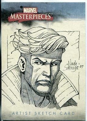 Marvel Masterpieces 2007 Sketch Card By Noah Salonga