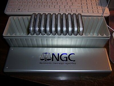 (Lot Of 10) Ngc Pr 69Uc Silver Coins -Show Special With A New Ngc Storage Box#2