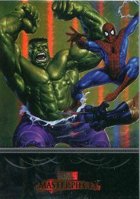 Marvel Masterpieces 2007 Complete 90 Card Foil Parallel Base Set
