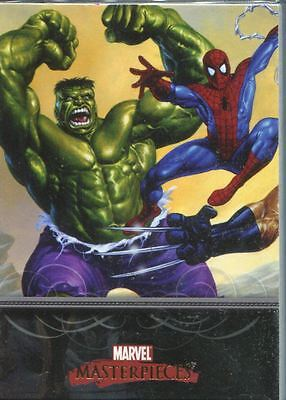 Marvel Masterpieces 2007 Complete 90 Card Base Set