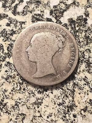 1840 Great Britain 4 Pence Fourpence Groat Lot#3781 Silver!