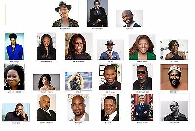 Personalized Return Address Labels Famous People Buy 3 get 1 free (aa1)