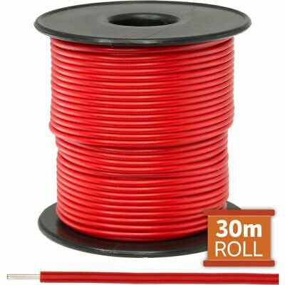Doss Red Hookup Wire/ Cable Sold As A Roll Of 30M