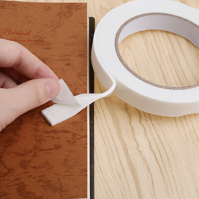 16mm 2m Strong Double Sided Sticky Adhesive Foam Tape For Home Office Stationery