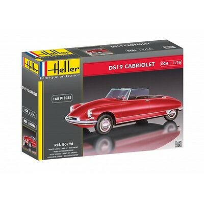 HELLER® 80796 Citroën DS 19 Cabriolet in 1:16