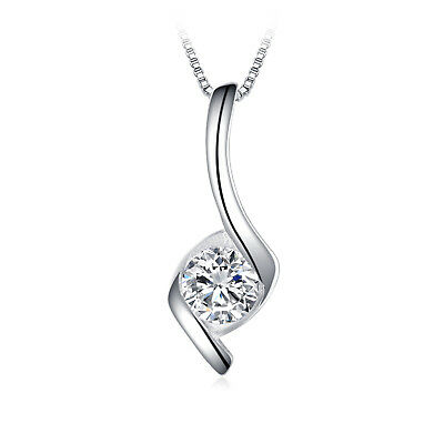 JewelryPalace 0.05ct Cubic Zirconia Cute devil Pendant Necklace 925 Sterling Silver 18 Inches ZxQyLIg