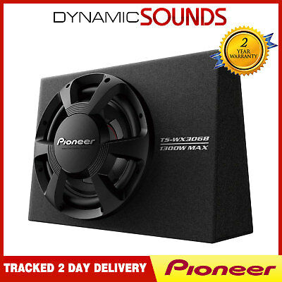 """Pioneer TS-WX306B 12"""" Car Subwoofer in Box 1300w Power"""