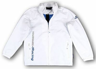 Mens Volkswagen R Racing Collection White Lightweight Jacket - Genuine Vw