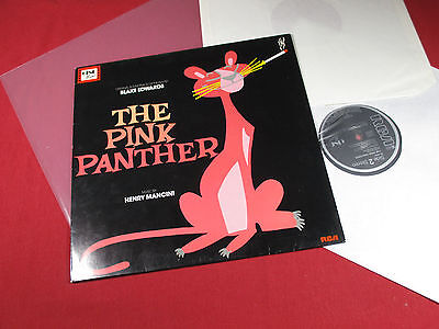 Henry Mancini  THE PINK PANTHER Soundtrack - LP RCA NL 80832 Germany 1983