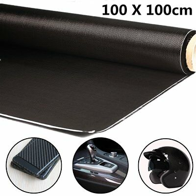 3K 200gsm 100x100cm High Strength Carbon Fiber Cloth For Interlayer 40'' Width