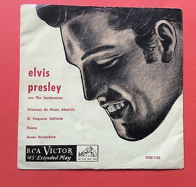 Elvis Presley-Very Very Very Rare Ep From Chile