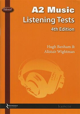 Edexcel A2 Music Listening Tests 4th Edition Music Book Only