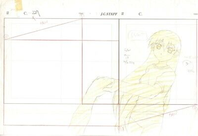 Anime Genga not Cel Azumanga Daioh 2 pages #40