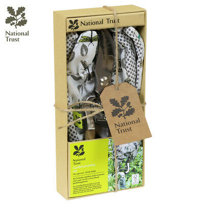 National Trust Gift Set With Secateurs And Soft Cotton Gloves Garden Tools