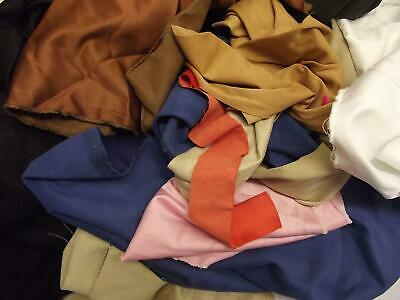 Assorted Faux SUEDE Suedette Fabric Material Waste Off cuts 1KG