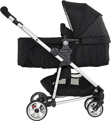 MyChild FLOE SINGLE STROLLER RAINBOW SQUIGGLE Pram/Pushchair Newborn/Baby BN