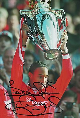 Paul Ince Hand Signed Manchester United 12x8 Photo 2.