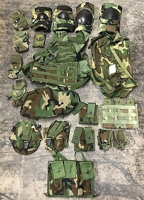US Army MOLLE II woodland camouflage Rifleman ACUPAT Infantry Men Set 20 teile