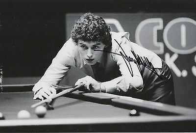 Jimmy White Hand Signed Snooker 12x8 Photo Legend 2.