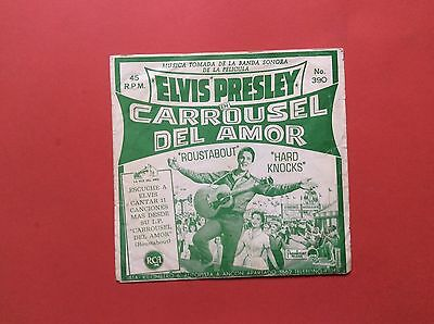 Elvis Presley-Tough To Find Single From Peru For Roustabout