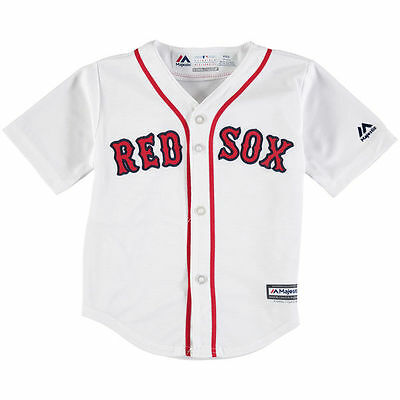 Boston Red Sox BABY INFANT Official Majestic Baseball Jersey 12, 18, 24 Months