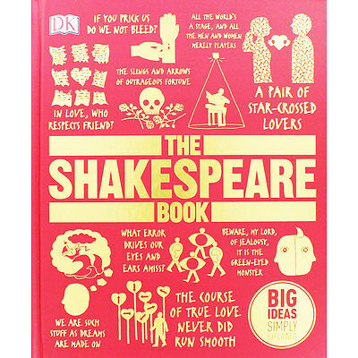 The Shakespeare Book by Dorling Kindersley (Hardback), Non Fiction Books, New