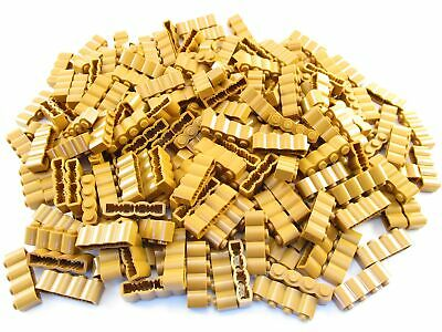 LEGO Medium Dark Flesh Brick Modified 1x1 Clip Vertical Lot of 100 Parts Pieces