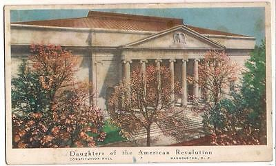 Ink Blotter Daughters Of The American Revolution Constitution Hall WDC