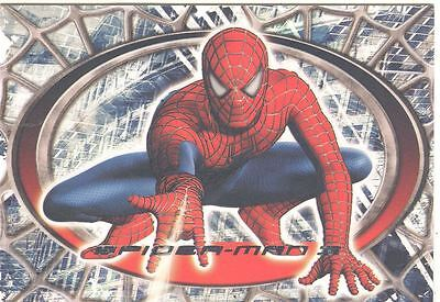 Spiderman 3 The Movie Red/Blue Spiderman Chase Card R2