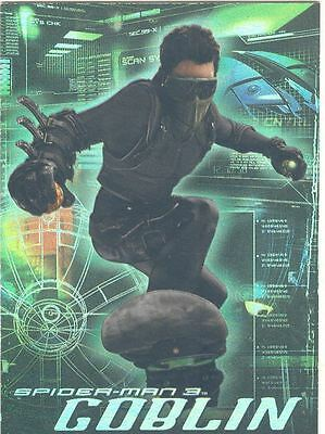 Spiderman 3 The Movie The Goblin Chase Card G1