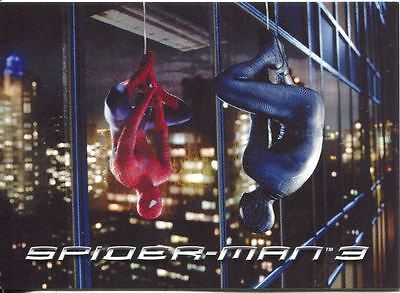 Spiderman 3 The Movie Sony Pictures Exclusive Black Spiderman Card